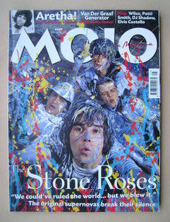 MOJO magazine - The Stone Roses cover (May 2002 - Issue 102)