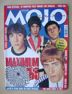 MOJO magazine - The Who cover (September 2000 - Issue 82)
