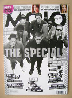 <!--2008-05-->MOJO magazine - The Specials cover (May 2008 - Issue 174)