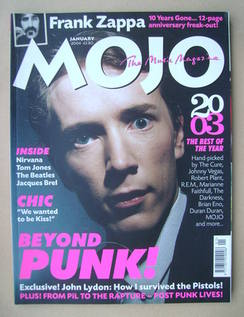 <!--2004-01-->MOJO magazine - John Lydon cover (January 2004 - Issue 122)