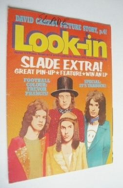 <!--1973-03-24-->Look In magazine - Slade cover (24 March 1973)