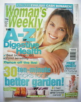 <!--2004-08-24-->Woman's Weekly magazine (24 August 2004)
