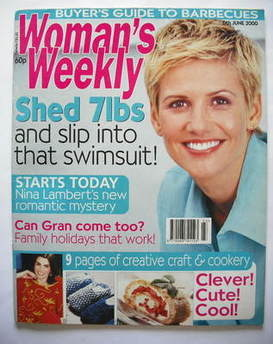 <!--2000-06-06-->Woman's Weekly magazine (6 June 2000)