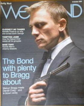 Weekend magazine - Daniel Craig cover (18 October 2008)