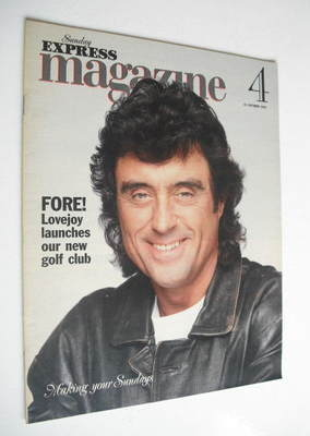 <!--1993-10-31-->Sunday Express magazine - 31 October 1993 - Ian McShane co