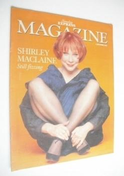 <!--1994-09-04-->Sunday Express magazine - 4 September 1994 - Shirley Maclaine cover