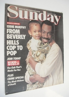 <!--1992-09-27-->Sunday magazine - 27 September 1992 - Eddie Murphy cover
