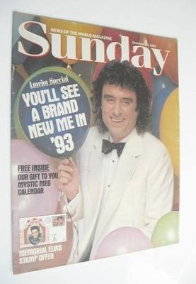 <!--1992-12-27-->Sunday magazine - 27 December 1992 - Ian McShane cover