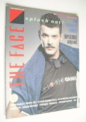 <!--1984-12-->The Face magazine - Paul Rutherford cover (December 1984 - Is