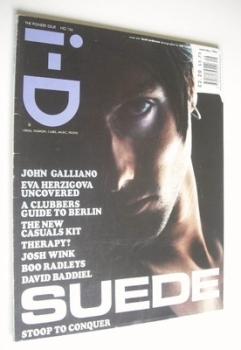 i-D magazine - Brett Anderson cover (September 1996 - Issue 156)