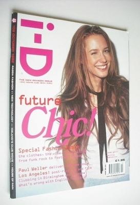 <!--1992-10-->i-D magazine - Cecilia Chancellor cover (October 1992)