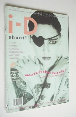 <!--1986-07-->i-D magazine - Ann Scott cover (July 1986)