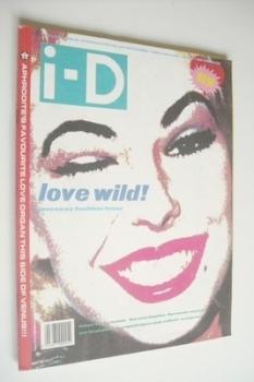 i-D magazine - Love Wild cover (December 1988 - Issue 65)