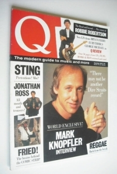 Q magazine - Mark Knopfler cover (December 1987)