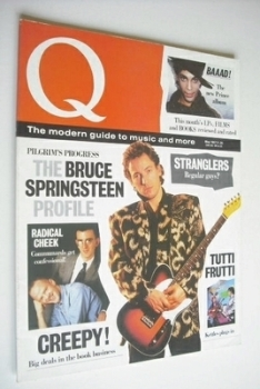 Q magazine - Bruce Springsteen cover (May 1987)