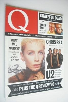 <!--1988-02-->Q magazine - February 1988