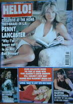<!--2003-10-28-->Hello! magazine - Penny Lancaster cover (28 October 2003 -