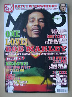 MOJO magazine - Bob Marley cover (July 2007 - Issue 164)