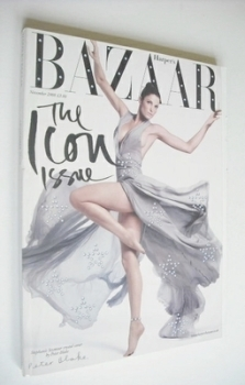 Harper's Bazaar magazine - November 2008 - Stephanie Seymour cover