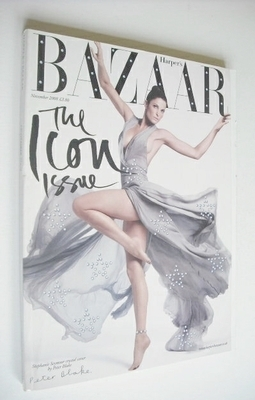 <!--2008-11-->Harper's Bazaar magazine - November 2008 - Stephanie Seymour