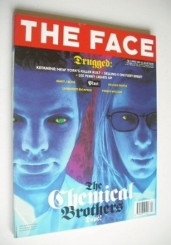 The Face magazine - The Chemical Brothers cover (April 1997 - Volume 3 No. 3)