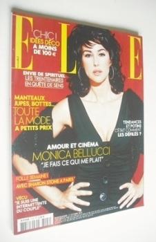 French Elle magazine - 17 October 2005 - Monica Bellucci cover