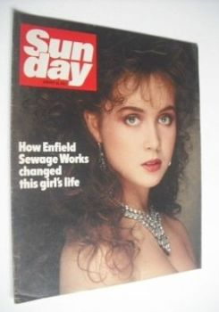 Sunday magazine - 16 January 1983 - Lysette Anthony cover