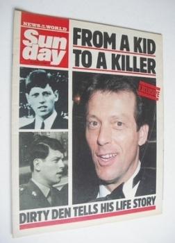 <!--1988-10-02-->Sunday magazine - 2 October 1988 - Leslie Grantham cover