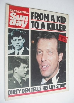 <!--1988-10-02-->Sunday magazine - 2 October 1988 - Leslie Grantham cover