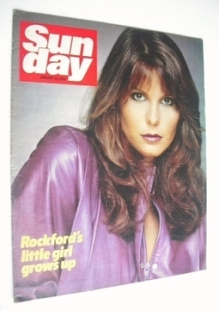 Sunday magazine - 10 January 1982 - Gigi Garner cover