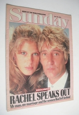 <!--1991-04-28-->Sunday magazine - 28 April 1991 - Rachel Hunter and Rod St