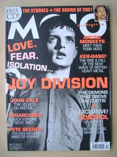 <!--2007-02-->MOJO magazine - Ian Curtis cover (February 2007 - Issue 159)