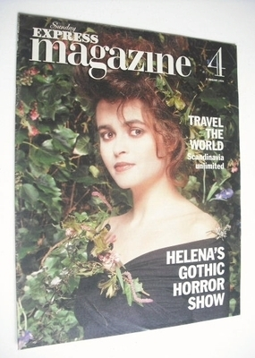 <!--1994-01-09-->Sunday Express magazine - 9 January 1994 - Helena Bonham C