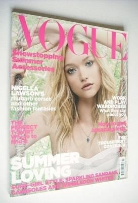 <!--2006-07-->British Vogue magazine - July 2006 - Gemma Ward cover