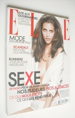 <!--2006-10-09-->French Elle magazine - 9 October 2006 - Marianna Romanelli