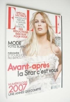 French Elle magazine - 18 December 2006