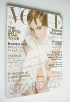 <!--2010-12-->British Vogue magazine - December 2010 - Emma Watson cover
