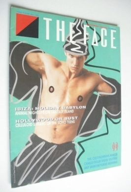 <!--1985-09-->The Face magazine - Body Rock cover (September 1985 - Issue 6