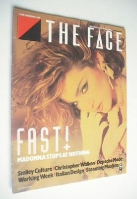 <!--1985-02-->The Face magazine - Madonna cover (February 1985 - Issue 58)
