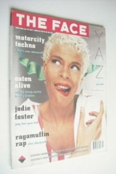 The Face magazine - Yazz cover (May 1988 - Issue 97)