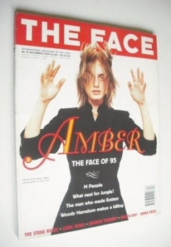 The Face magazine - Amber Valletta cover (December 1994 - Volume 2 No. 75)