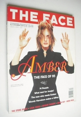 <!--1994-12-->The Face magazine - Amber Valletta cover (December 1994 - Vol