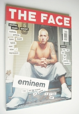 <!--2000-10-->The Face magazine - Eminem cover (October 2000 - Volume 3 No.