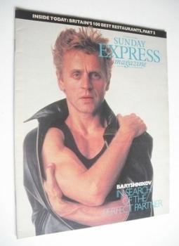 <!--1987-11-22-->Sunday Express magazine - 22 November 1987 - Mikhail Baryshnikov cover