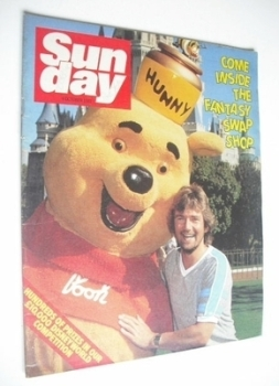 Sunday magazine - 4 October 1981 - Noel Edmonds cover