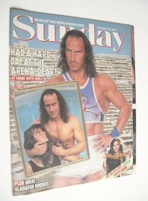 <!--1993-11-28-->Sunday magazine - 28 November 1993 - Michael Van Wijk cove