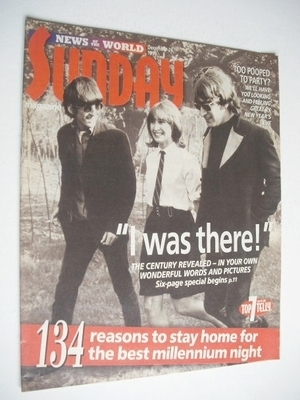 <!--1999-12-26-->Sunday magazine - 26 December 1999 - John Lennon and Ringo