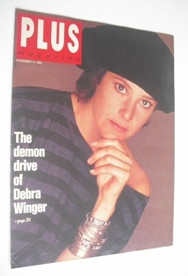 Plus magazine - Debra Winger cover (14 November 1990)