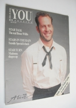 You magazine - Bruce Willis cover (19 July 1987)