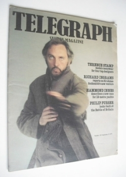 The Sunday Telegraph magazine - Terence Stamp cover (9 September 1979)